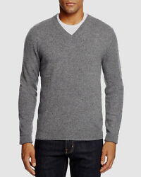The Menand039s Store At Bloomingdaleand039s Cashmere V-neck Sweater Size L Msrp 198