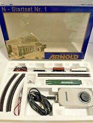 Arnold Rare Exclusive For Tupperware Train N Scale Startset Nr.1 Made In Germany