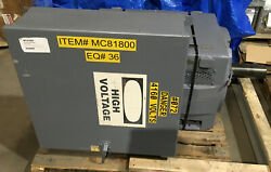 Ge 5k818841c129 200 Hp 1180 Rpm 3 Phase 8188z Frame Reconditioned
