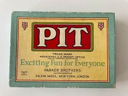 Pit-vintage Card Game - Bull And Bear Limited Edition