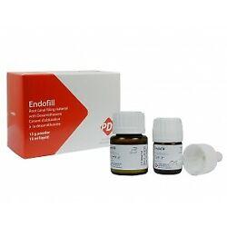 Endofill 15 Gm Powder + 15 Ml Liquid Dental Root Canal Sealer By Pd Swiss