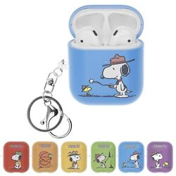 Willbee Camp For Airpods Case With Keychain Key Ring Hard Pc Cover