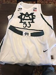 Michigan State 2017/2018 Mens Basketball Jersey And Game Shorts
