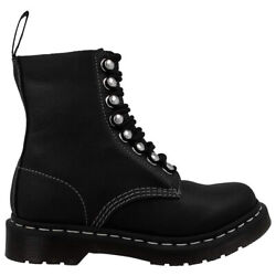 Dr. Martens Womens Boots 1460 Pascal Hdw Lace-up Combat Virginia Leather