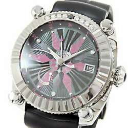 Free Shipping Pre-owned Seiko Galante Limelight Gmt Sbla099 Spring Drive