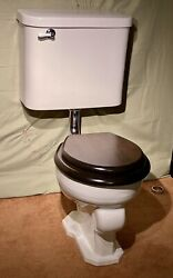 1930s Vintage Wall Mounted Crane Toilet Restored