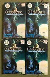 Lot Of 4 1996 Fleer Casper The Friendly Ghost Trading Cards 118 Cards Checklist