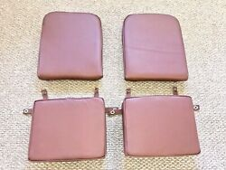 Aeronca 7 Series Brown Leather 4 Cushioned Set Most Like The Original