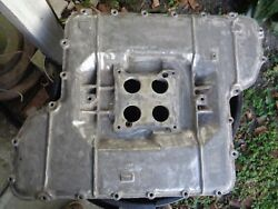 Hemi 426 Intake Bathtop Manifold Nascar Holley Dodge Plymouth Mopar