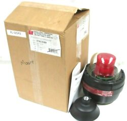 New Federal Signal 27xl-024r Xl-12043 Explosion-proof Led Warning Light