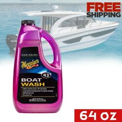 Boat Washing Soap Cleaner Cleaning Liquid Solution Wash Rv Fishing Yacht Deck