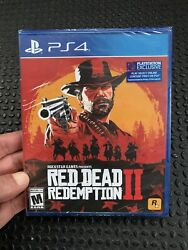 Red Dead Redemption 2 Standard Edition Playstation 4 Ps4 New Factory Sealed