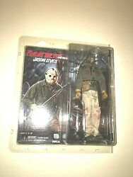 Neca Friday 13th Part 6 Jason Voorhees Factory Error No Mask Or Spear.