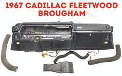 1967 Cadillac Fleetwood Brougham Dashboard Panel Assembly Pad Deville Eldorado