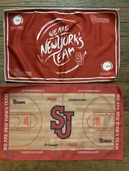 St Johns Red Storm 2 Rally Towels Sga Queens We Are Ny Basketball Sju Court