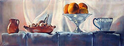20 Off New York Oil Painting Enid Smiley And039still Life With Orangesand039 10 X 29