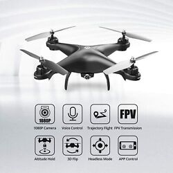 Wow Holy Stone Rc Drone With 1080p Hd Camera Live Video 120anddeg Wide-angle Fast