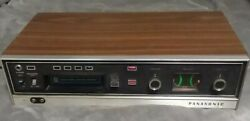Vintage Panasonic Rs-803us 8-track Stereo Player And Recorder