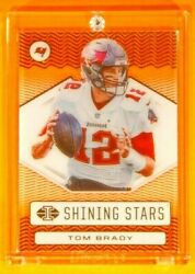 Illusion Shining Stars Tom Brady Buccaneers Legend Special Gold Foil Acetate