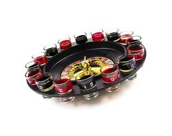 Shot Glass Roulette - Drinking Game Set 2 Balls And 16 Glasses Large