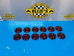 12 Bullet Light Red Plastic Replacement Lens Harley Tractor Guide P-h7 R8-50-1