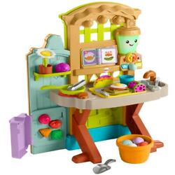 Fisher-price Laugh And Learn Grow-the-fun Garden Play Kitchen
