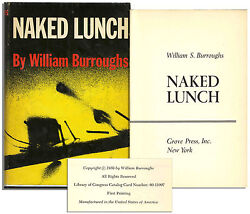 William Burroughs Naked Lunch 1st Edition