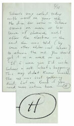 Hunter S. Thompson Autograph Letter Signed Re His Book