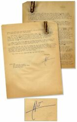 Hunter S. Thompson Letter Signed From South America