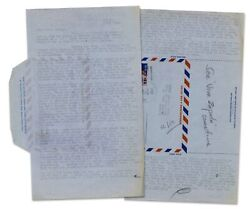 Hunter S. Thompson Typed Letter With Handwritten Note