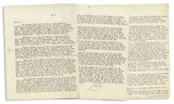 Hunter Thompson Letter From 1965 Re Helland039s Angels