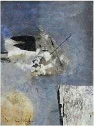 Pere Salinas Lyrical Composition 1990s / Catalan Spanish Abstract Expressionism