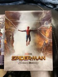 Spider-man Homecoming 3d Blu-ray Steelbook Blufans Oab30 [china] + Magnet