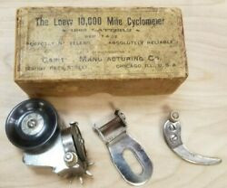 Loew 10000 Mile Cyclometer 1890andrsquos In Box Nos Take A Look This One Is Worth It