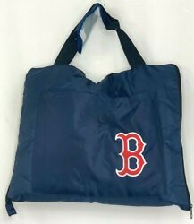 Boston Red Sox Packable Quilted Hugger Throw Blue Rectangle Blanket Northwest