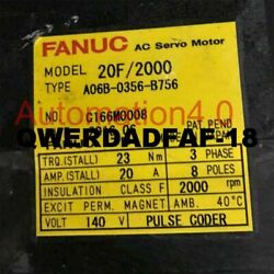 1pc Used Fanuc A06b-0356-b756 Tested In Good Condition Quality Assurance