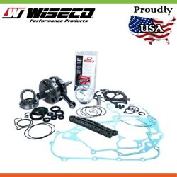 Wiseco Garage Buddy Complete Engine Rebuild Kit For Yamaha Yfm660fa Grizzly 6...