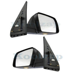 For 07-13 Tundra Mirror Power Folding Heated With Puddle And Signal Light Set Pair