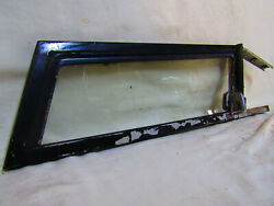 International Harvester Scout 80/800 Driverand039s Wing Vent Window
