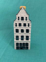 Klm Royal Dutch Airlines - Blue Delft House No 41 By Bols Jenever - Ex Condition