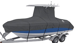 Classic Accessories Stormpro Heavy Duty Center Console T-top Roof Boat Cover Up