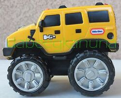 Little Tikes-hummer H2-6463/64-rubber And Plastic Tires-plastic Body-4 1/2 L