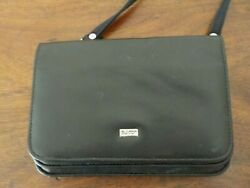 Buxton Black Crossbody Purse Detachable strap $12.00