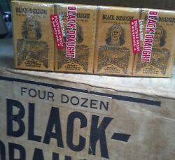 Vintage Black Draught laxative. 4 pack.