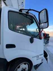 2019 Hino 195h Used Rh Right Passenger White Electric Door W Mirror And Trim Panel