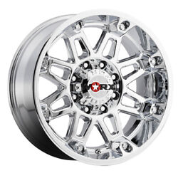 Mounted Wheel - Worx 811 Conquest 20x9 8x170 Et18 Chrome Plated Qty Of 1