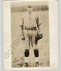 Singer Bing Crosby As Young Boy Baseball Player Vintage Early Press Photo 1920s