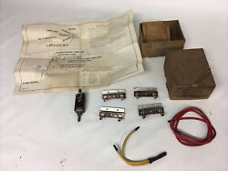 Nos 1950and039s Mercury Ford Lincoln Heater Switch Repair Kit Resister Om-18553