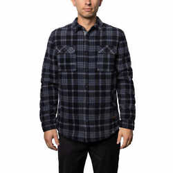 Sale Voyager Menand039s Polar Fleece Shirt Jacket | Variety Size And Color | K53