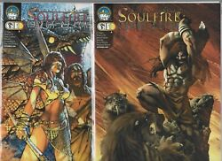Soulfire Chaos Reign 1 And 1b  Lot Of 2 September 2006, Aspen Entertainment